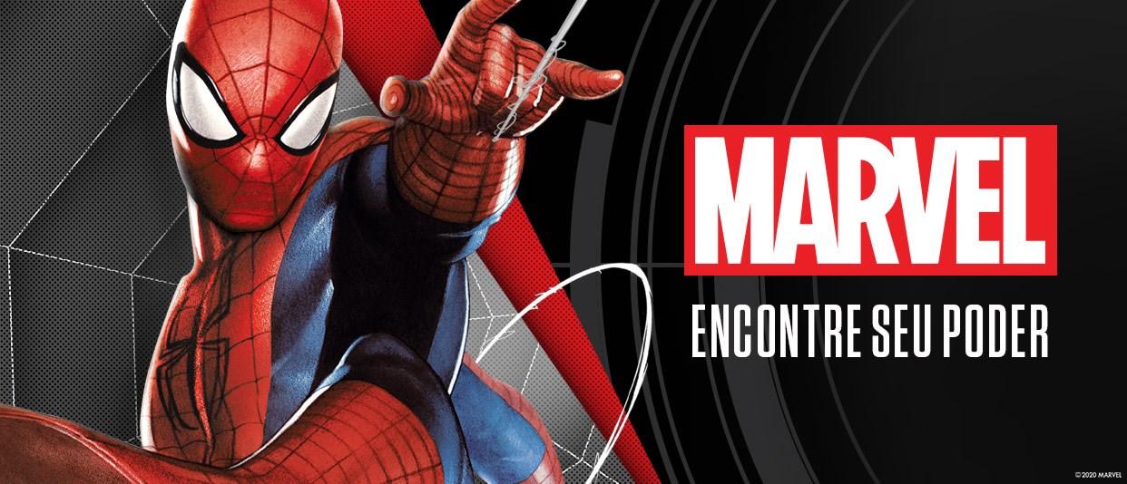 Confira nossos produtos Marvel