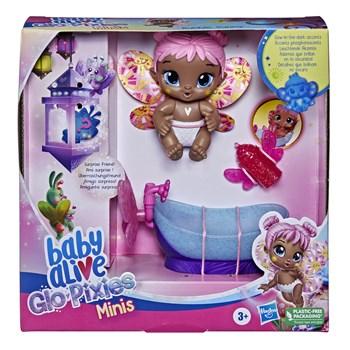 BABY ALIVE GLO PIXIES MINI BUBBLE SUNNY ROSA - HASBRO F2597