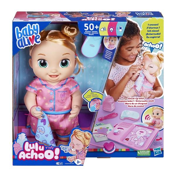 BABY ALIVE LULU ACHOO LOIRA - HASBRO F2620