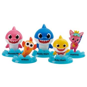 BABY SHARK MINI FAMILIA PACK COM 3 - SUNNY 2359