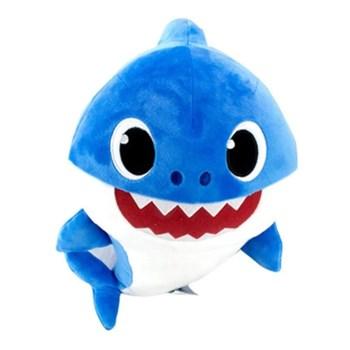 BABY SHARK PELÚCIA COM MÚSICA DADDY SHARK - SUNNY 2357