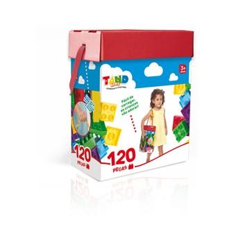 BLOCOS DE MONTAR TAND KIDS 120 PEÇAS - TOYSTER