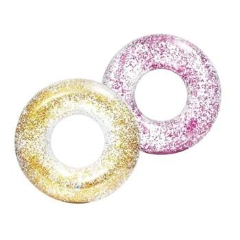 Bóia Transparente Glitter - Intex 56274