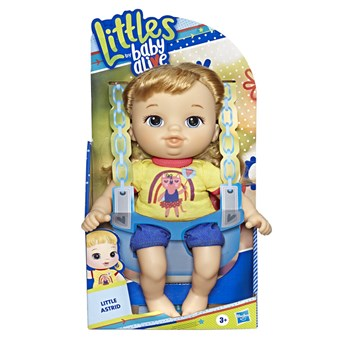 BONECA BABY ALIVE LITTLES ESTILOSA - ASTRID  - HASBRO E8407