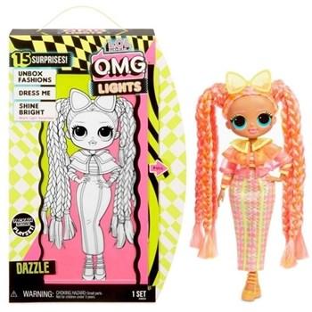 Boneca LOL Surprise OMG Lights Series Dazzle - Candide 8941