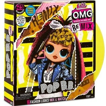 Boneca LOL Surprise OMG New Remix Pop B.B.  - Candide 8957