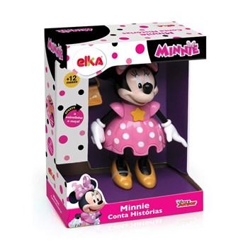Boneca Minnie Conta História-Elka