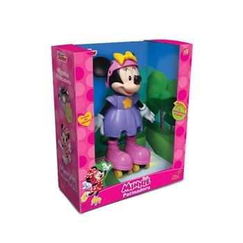 """Boneca Minnie Patinadora """"Elka"""""""