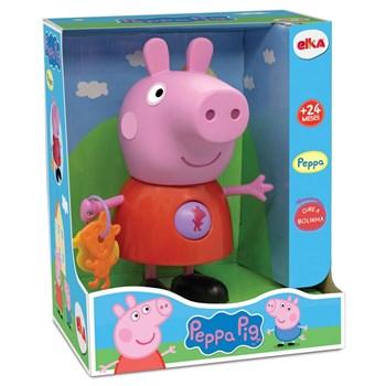 Boneca Peppa com Atividades - Peppa Pig  - Elka