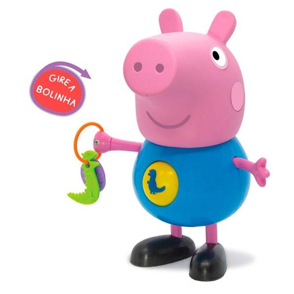 Boneco George com Atividades - Peppa Pig - Elka