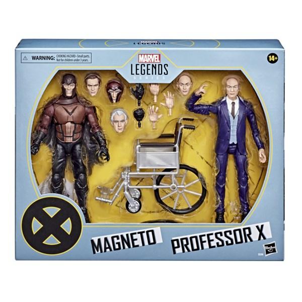 BONECO LEGENDS X MEN MAGNETO E PROFESSOR X - HASBRO E9290