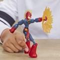 Boneco Marvel - Capitã Marvel Bend And Flex - Hasbro E7377