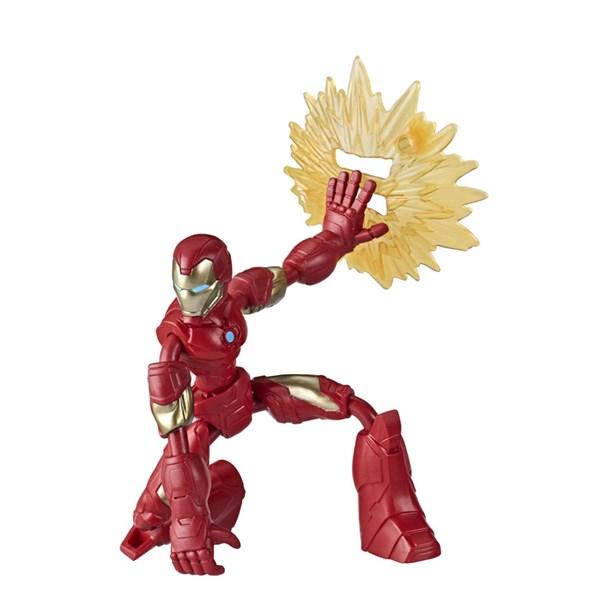 Boneco Marvel - Homem de Ferro Bend And Flex - Hasbro E7377
