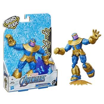 Boneco Marvel - Thanos Bend And Flex - Hasbro E7377