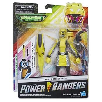 BONECO POWER RANGERS 15CM AMARELO - HASBRO E5915