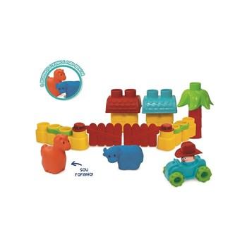 Brinquedo Fofo Blocos - Fazendinha - Elka