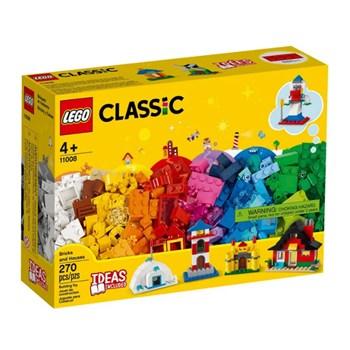 BRINQUEDO LEGO - BLOCOS E CASAS 270 PEÇAS