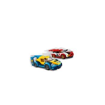 BRINQUEDO LEGO CITY - CARROS DE CORRIDA 190 PEÇAS