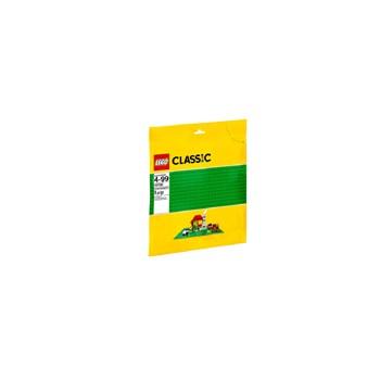 BRINQUEDO LEGO CLASSIC - BASE VERDE