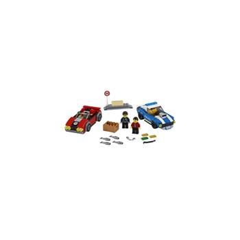 BRINQUEDO LEGO - DETENÇÃO POLICIAL NA AUTOESTRADA 185PEÇAS