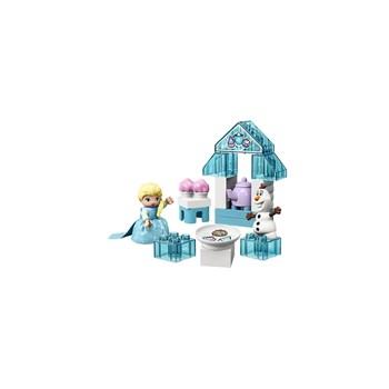 BRINQUEDO LEGO - FESTA DO CHÁ DA ELSA E DO OLAF 17 PEÇAS