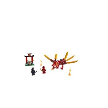 BRINQUEDO LEGO NINJAGO - DRAGÃO DO FOGO DO KAI 81 PEÇAS