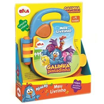 Brinquedo Meu Livrinho Galinha Pintadinha - Elka