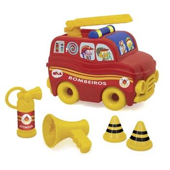 Brinquedo SOS Resgate - Bombeiro - Elka