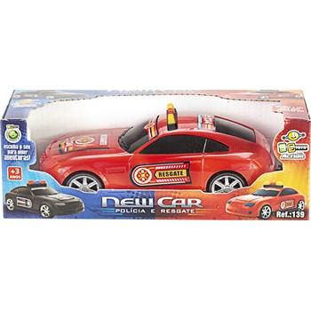 CARRINHO NEW CAR POLICIA E RESGATE - BS TOYS 139