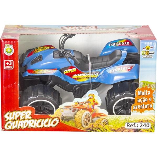 CARRINHO SUPER QUADRICICLO - BS TOYS 240