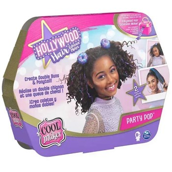 Conjunto Cabelo Hollywood Hair Styling Pack Party Pop Sunny