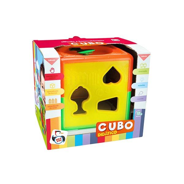CUBO DIDÁTICO - PICA PAU  694