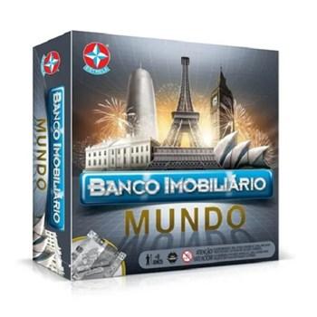 JOGO BANCO IMOBILIÁRIO MUNDO - ESTRELA 806628