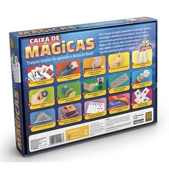 JOGO CAIXA DE MÁGICAS - 12 TRUQUES