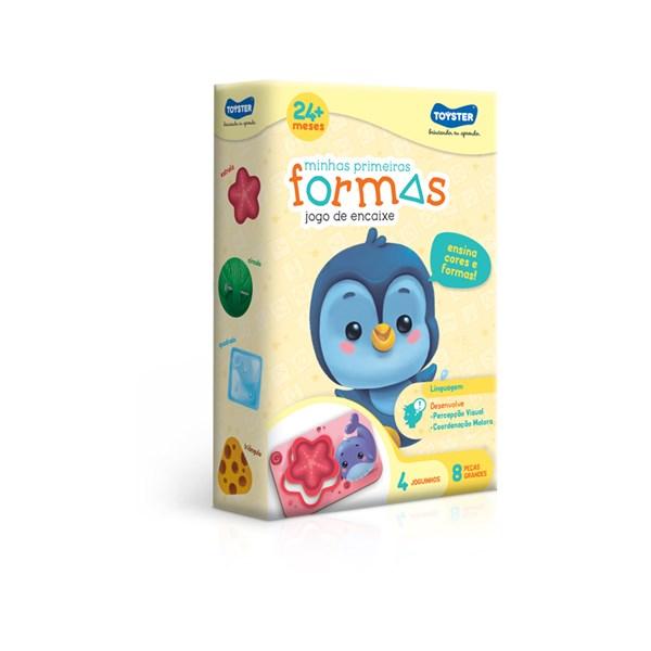JOGO EDUCATIVO MINHAS PRIMEIRAS FORMAS - TOYSTER