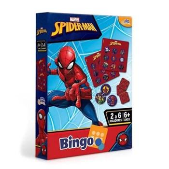 Jogo Marvel - Bingo Homem Aranha -Toyster 8017