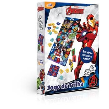 JOGO TRILHA MARVEL OS VINGADORES - TOYSTER 8040
