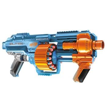 Lançador Nerf Elite Shockwave 2.0 - Hasbro E9531