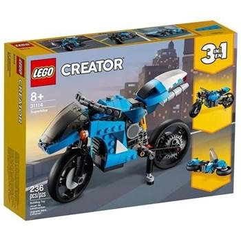 LEGO CREATOR - SUPER BIKE 236 PÇS - 31114