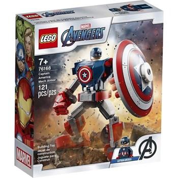 LEGO MARVEL AVENGER ROBÔ ARMADURA DO CAPITÃO AMÉRICA -76168