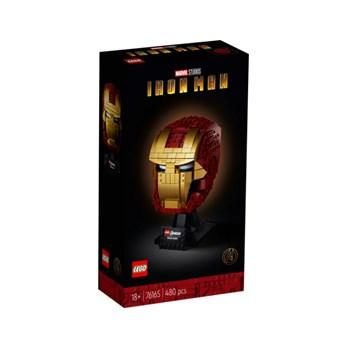 Lego Marvel - Capacete de Iron Man 480 peças - 76165