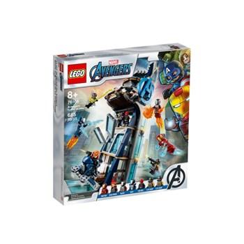 Lego Marvel Combate na Torre dos Vingadores 685 peças 76166