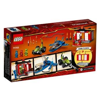 Lego Ninjago Batalha Lutador da Tempestade 165 peças - 71703