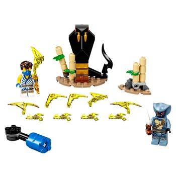 LEGO NINJAGO COMBATE EPICO JAY VS SERPENTINE - 71732