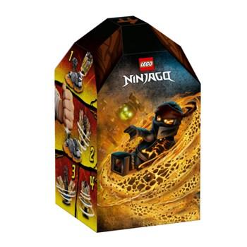 Lego Ninjago - Rajada de Spinjitzu Cole - 70685