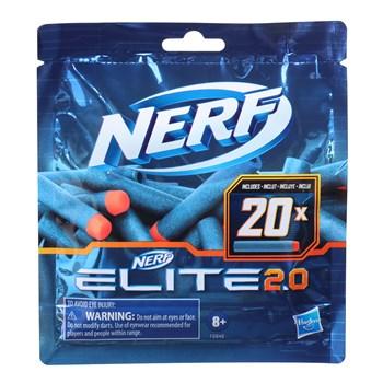 NERF REFIL ELITE 2.0 DARDOS C/ 20 - HASBRO F0040
