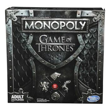 NOVO JOGO MONOPOLY GAME OF THRONES - HASBRO E3278