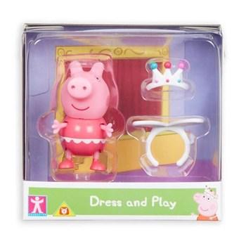 PEPPA PIG - FIGURA PEPPA PIG COM ROUPINHA - SUNNY 2319