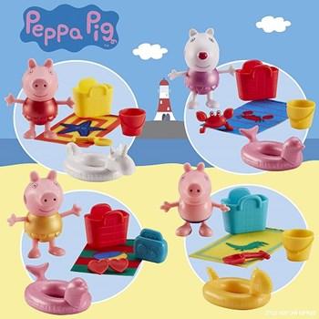 PEPPA PIG - FIGURA PEPPA VERMELHA COM ACESSÓRIO - SUNNY 2317
