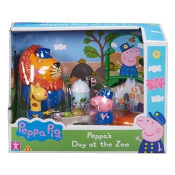 PEPPA PIG PLAYSET CUIDANDO DO ZOOLÓGICO - SUNNY 2321